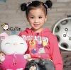 girls' apparel/ girl's fashion top/ children's fashion wear