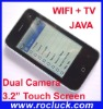 "K599 WIFI Cellular Phone Quad Band with 3.2"" Touch Screen"
