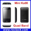 Mini M028 (kA08) Mini Dual SIM Cell Phone Quad Band with Camera