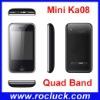 Mini M028 (kA08) Mini Dual SIM Cell Phone Quad Band with Camera