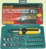 41 PC Precision Ratchet Screwdriver Set