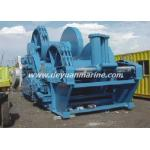 Anchor windlass mooring winches
