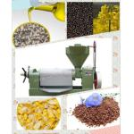 Screw oil press machine corn germ oil press canola oil press