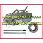 Wire rope hoist instructions