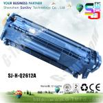 new compatible hp toner cartridge Q2612A for laserjet 1010 1020