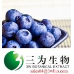Bilberry extract anthocyanins (sales04@3wbio.com)