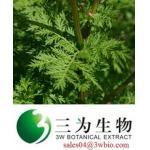 98% Artemisinin , Sweet wormwood P.E.(sales04@3wbio.com)