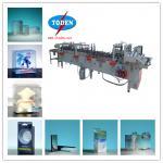 PVC PET PP plastic box gluing side machine