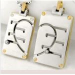Stainless Steel Lover Pendant (PX6112)