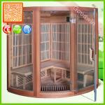 Wooden Infrared Sauna Cabin Infrared Ozone Sauna