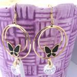 2013 FAashion Charming Women's Jewelry Stainless Steel Earring (EC1196)