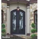High quality wrought iron door