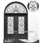 Steel entrance doors