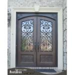 Fashion entrance door