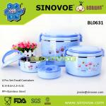 3 Pcs Set casserole wholesale for Food Warmer