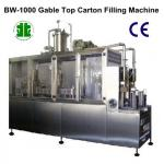 Semi-Auto Gable Top Beverage Filling Machine (BW-1000)