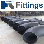 Pipe elbow 45D sch40 welded fitting