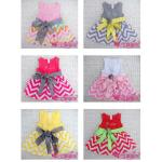 2013 New Design Girl Dresses,Summer Dresses,Chevron Dresses