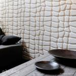 3D-wall panels and 3d-wall paper, eco friendly wall decoration