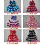 New style Cute Satin Girl Dress Skirt,kids in dresses