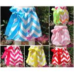 Wholesale Girl Chevron Skirt Zig zag girl short skirt