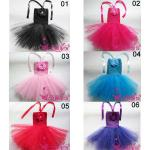 Girl Handweave Tutu skirt with 8