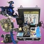 Tattoo Kit Kits 3 Gun Power Supplies Needles Set Equipment Supplies