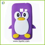 Animal shaped cute penguin silicone cheap mobile phone case for Samsung Galaxy Ace Duos S6802
