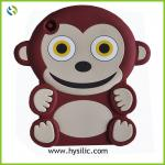 3d cartoon animal shaped cute new style monkey cheap silicone case cover for ipad mini