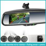 Newest car interior mirror with high-tech camera, auto-dimming function