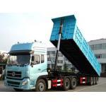 rear tipper trailer truck