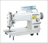 Single-needle lockstitch sewing machine with auto trimmer