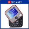 Q1 Dual Card Quad Band QWERTY Keypad Rotary Touch Screen Mobile Phone #5079