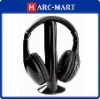 Wireless Headset Headphone Earphone for TV DVD MP3 PC #8239