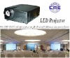 3500 lumens LED projector with led light source, long life time up to 50,000H, low power 45W for home theater cinema office etc