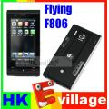 F806 Dual SIM Dual Standby 3.0 Inch Touch Screen Mobile Cell phone TV WiFi Java