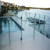 Tempered glass pool fencing
