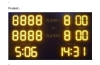 led tennis scoreboard