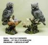 resin owl statue