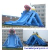 Inflatable big dragon water slide