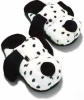 plush dog slipper