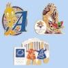 Brass-stamped Imitation/Soft Cloisonne Pins