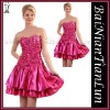 elegant design hot pink cocktail dress