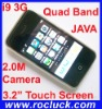 i9 3G Quad Band Dual SIM Cellphone with JAVA and Camera