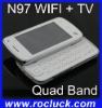 WIFI Cell Phone N97 TV WIFI Phone Quad Band Dual SIM