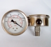60mm oil vacuum pressure gauge