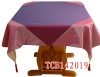 satin tablecloth,table cloth,embroidered table cloth