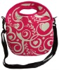 pink 3mm neoprene lunch bag