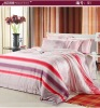 tencel comforter chambray bedding set/sheet set/bed cover with reactive print
