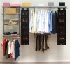 fully adjustable wall mounted closet